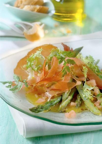 Grüner Spargelsalat Rezept